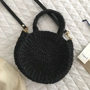Clare V.  Alice Woven bag - Black Size Small